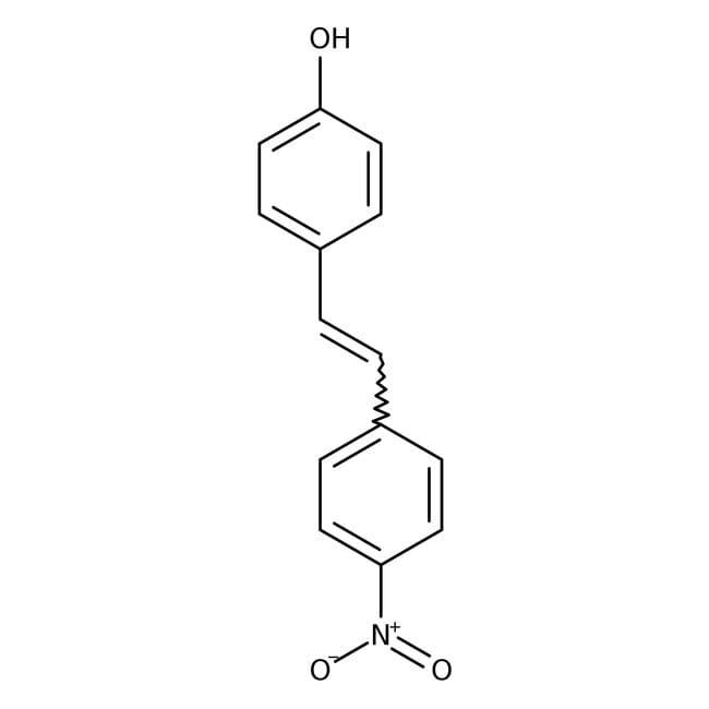 4-Hydroxy-4'-nitrostilbene, 97%, ACROS Organics™  4-Hydroxy-4'-nitrostilbene, 97%, ACROS Organics™