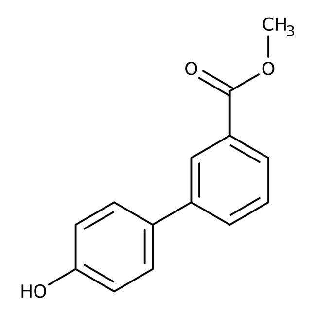 Alfa Aesar™Methyl4'-Hydroxybiphenyl-3-Carboxylat, 95% 1g Alfa Aesar™Methyl4'-Hydroxybiphenyl-3-Carboxylat, 95%