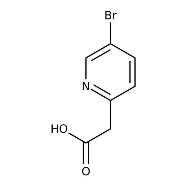 Alfa Aesar™5-Bromo-2-pyridineacetic acid, 98% 250mg Alfa Aesar™5-Bromo-2-pyridineacetic acid, 98%