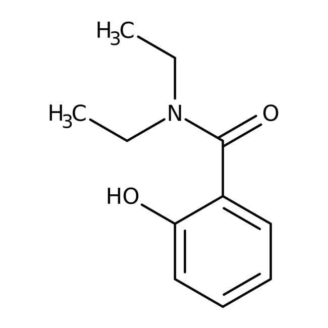N,N-Diéthylsalicylamide, 97%, ACROS Organics™ 25g N,N-Diéthylsalicylamide, 97%, ACROS Organics™