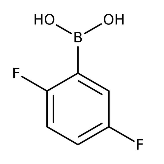 2,5-Difluorophenylboronic acid, 97%, ACROS Organics™