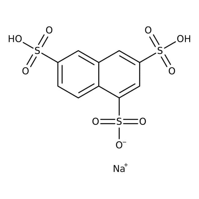 1,3,6-Naphthalenetrisulfonic acid, sodium salt hydrate, mixture of isomers, ACROS Organics™