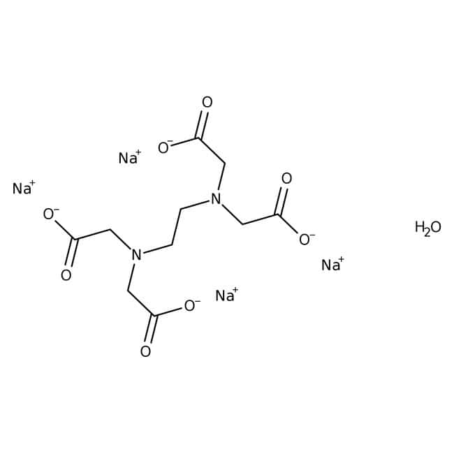 Ethylenediaminetetraacetic acid, tetrasodium salt hydrate, 98%, pure, ACROS Organics™