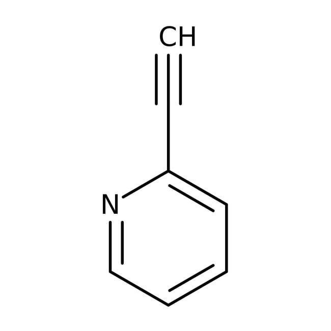 2-Ethynylpyridine, 98+%, ACROS Organics™ 25g; Glass bottle 2-Ethynylpyridine, 98+%, ACROS Organics™