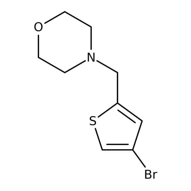 4-[(4-bromothien-2-yl)methyl]morpholine, 97%, Maybridge™