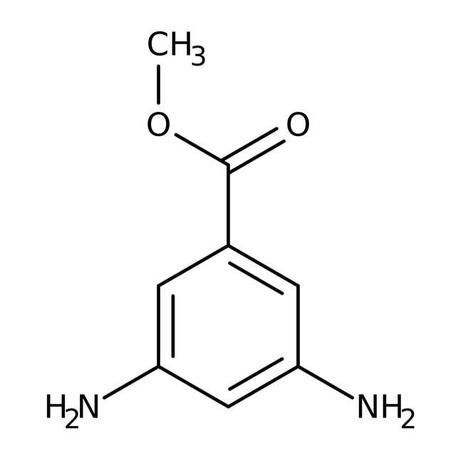 Alfa Aesar™3,5-diaminobenzoate de méthyle, 99% 50g Alfa Aesar™3,5-diaminobenzoate de méthyle, 99%