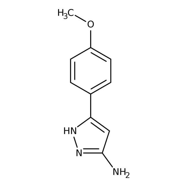 Alfa Aesar™5-Amino-3-(4-methoxyphenyl)-1H-pyrazol, 97%: Chemicals Produkte