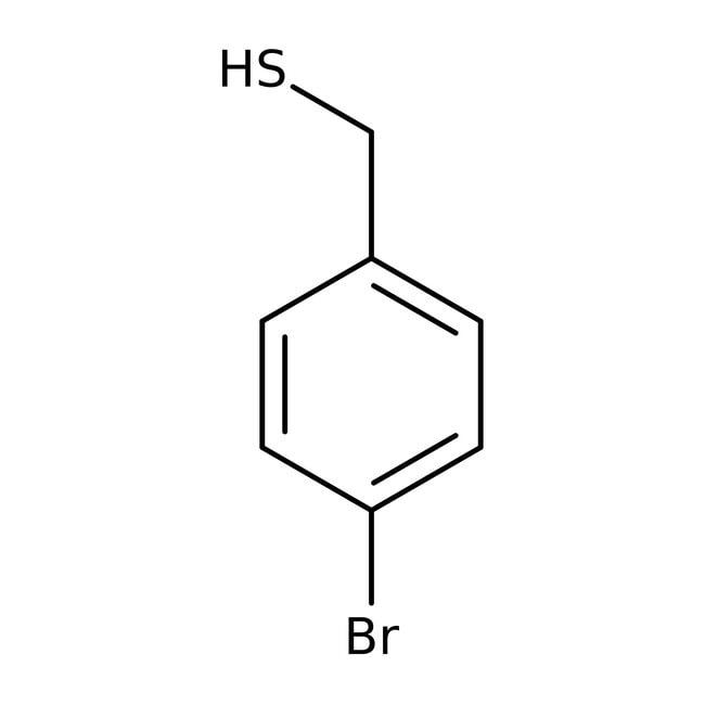 Alfa Aesar™Mercapatano de 4-bromobencilo, 98% 1g Alfa Aesar™Mercapatano de 4-bromobencilo, 98%