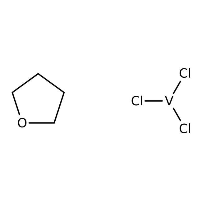 Vanadium(III) chloride-tetrahydrofuran complex (1:3), 0.5M solution in methylene chl, Acros Organics