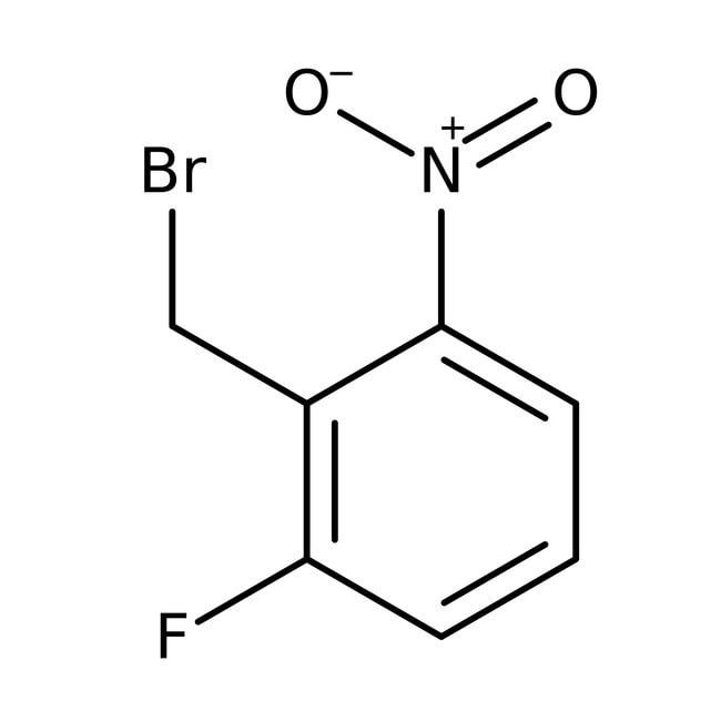 2-Fluoro-6-nitrobenzyl bromide, 98%, Acros Organics 1g, Glass bottle 2-Fluoro-6-nitrobenzyl bromide, 98%, Acros Organics