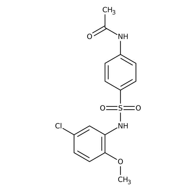 Alfa Aesar™4'-(5-Chloro-2-methoxyphenylsulfamoyl)acetanilide, 97% 1g prodotti trovati