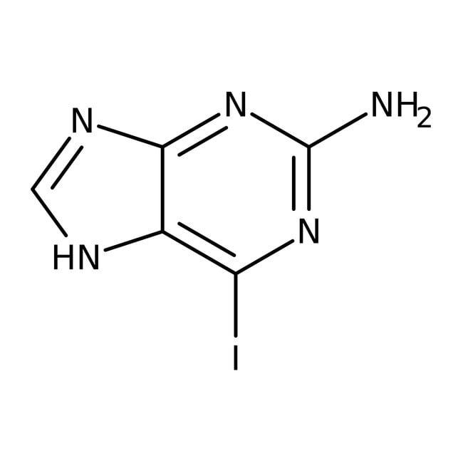 Alfa Aesar™2-Amino-6-iodopurine, 97% 5g Alfa Aesar™2-Amino-6-iodopurine, 97%