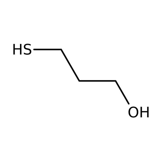 3-Mercapto-1-propanol, 97+%, Acros Organics 5g; Glass bottle 3-Mercapto-1-propanol, 97+%, Acros Organics