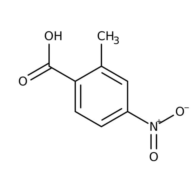 2-Methyl-4-nitrobenzoesäure, 98%, Acros Organics™ 5g 2-Methyl-4-nitrobenzoesäure, 98%, Acros Organics™