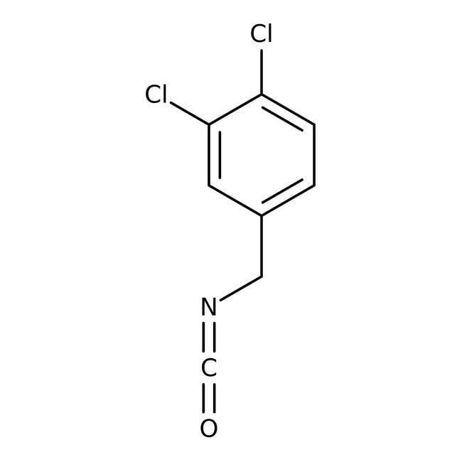 3,4-Dichlorobenzyl isocyanate, 98%, ACROS Organics™ 1g; Glass bottle 3,4-Dichlorobenzyl isocyanate, 98%, ACROS Organics™