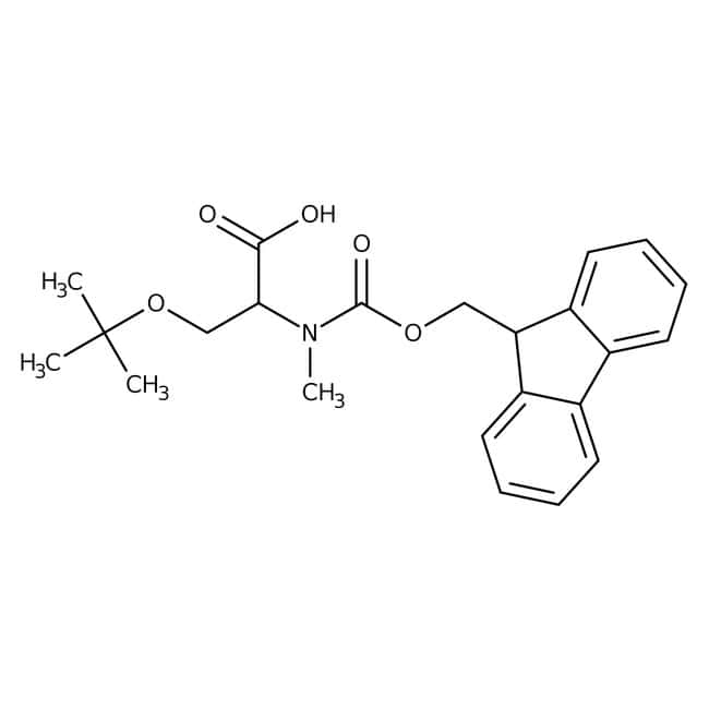 Alfa Aesar™N-Fmoc-O-tert-butyl-N-methyl-L-serine, 97% 5g Alfa Aesar™N-Fmoc-O-tert-butyl-N-methyl-L-serine, 97%