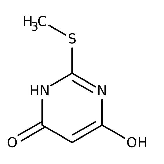 4,6-Dihydroxy-2-methylmercaptopyrimidine, 97%, ACROS Organics™
