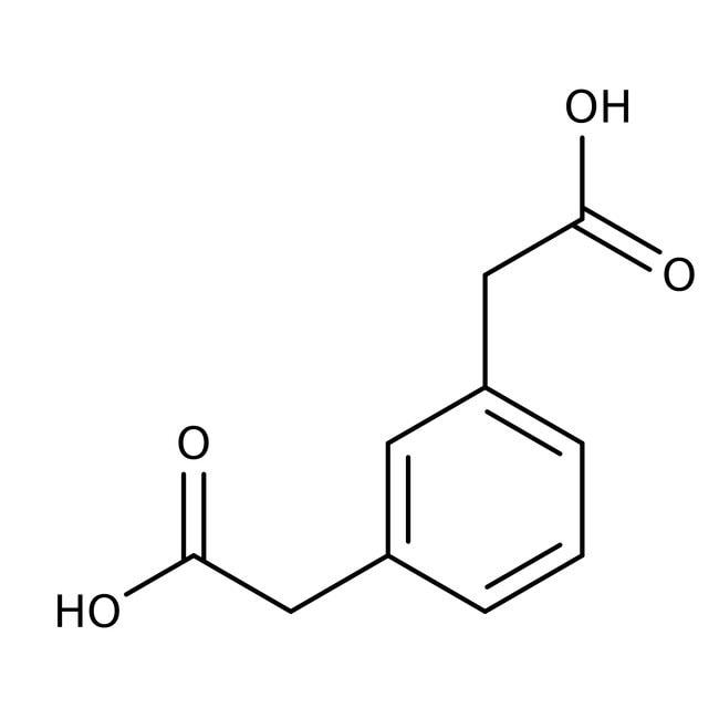 Acide 1,3-phénylènediacétique, 97%, ACROS Organics™ 5g; flacon en verre Acide 1,3-phénylènediacétique, 97%, ACROS Organics™