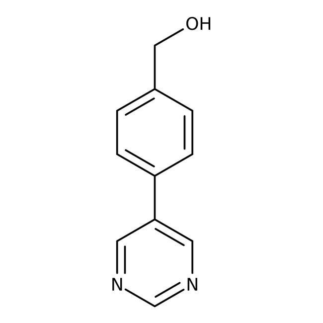 (4-Pyrimidin-5-ylphenyl)methanol, ≥97%, Maybridge™ Amber Glass Bottle; 250mg (4-Pyrimidin-5-ylphenyl)methanol, ≥97%, Maybridge™