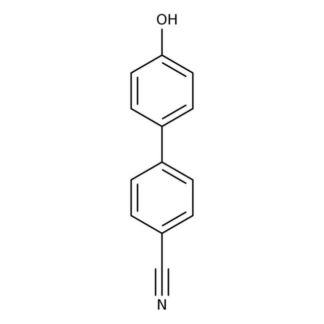4'-Hydroxy-4-biphenylcarbonitrile, 95%, ACROS Organics™ 1g; Glass bottle 4'-Hydroxy-4-biphenylcarbonitrile, 95%, ACROS Organics™