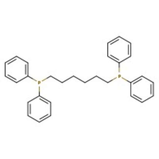 Alfa Aesar™1,6-Bis(diphenylphosphino)hexane, 97% 5g Alfa Aesar™1,6-Bis(diphenylphosphino)hexane, 97%