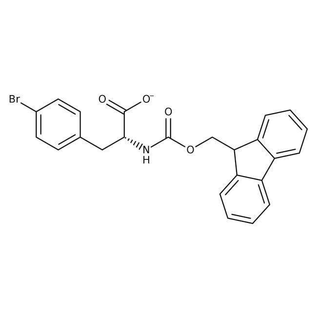 (R)-N-FMOC-4-Bromophenylalanine, 95%, 98% e.e., ACROS Organics