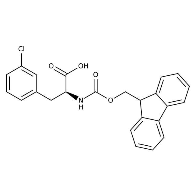 Alfa Aesar™3-Chlor-N-Fmoc-L-Phenylalanin, 95% 5g Alfa Aesar™3-Chlor-N-Fmoc-L-Phenylalanin, 95%