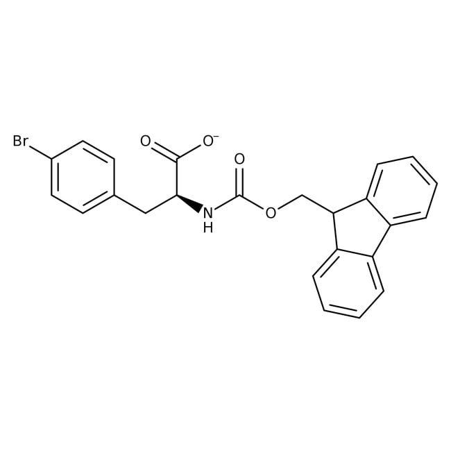 (S)-N-FMOC-4-Bromophenylalanine, 95%, 98% e.e., ACROS Organics