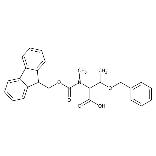 Alfa Aesar™N-Fmoc-O-benzyl-N-methyl-L-threonine, 95% 5g Alfa Aesar™N-Fmoc-O-benzyl-N-methyl-L-threonine, 95%