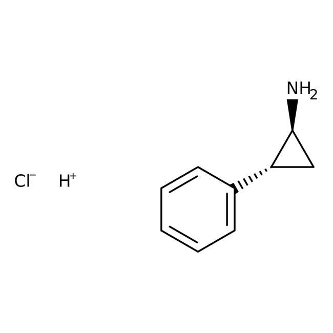 trans-2-Phenylcyclopropylamine hydrochloride, 97%, ACROS Organics™