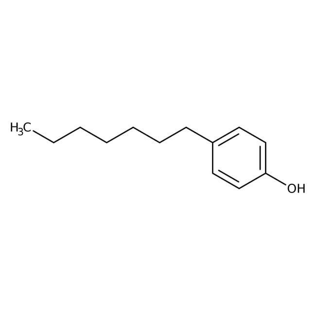 Alfa Aesar™4-n-Heptylphenol, 98+% 25g Alfa Aesar™4-n-Heptylphenol, 98+%
