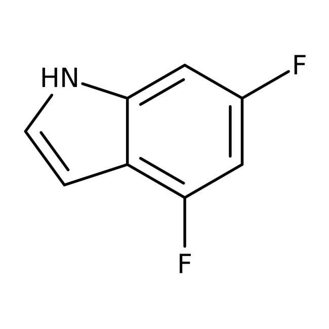 Alfa Aesar™4,6-Difluoroindole, 97%