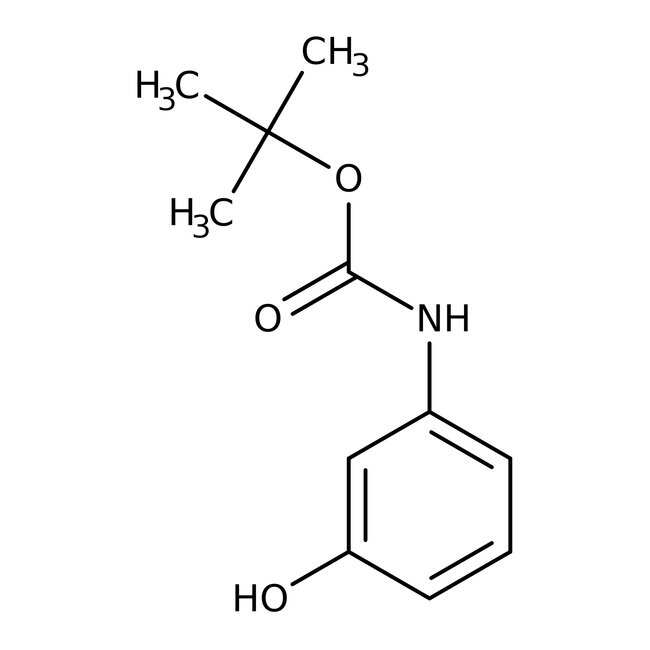 Alfa Aesar™3-(Boc-amino)phenol, 97%