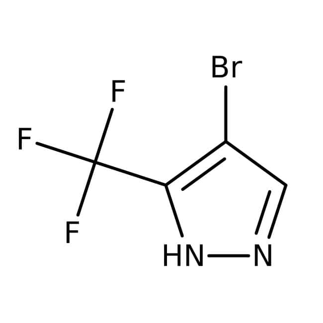4-Bromo-3-(trifluoromethyl)-1H-pyrazole, 97%, ACROS Organics™: Aryl halides Organohalogen compounds