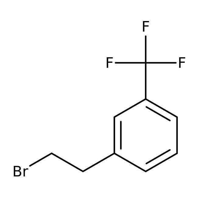 Alfa Aesar™1-(2-Bromoethyl)-3-(trifluoromethyl)benzene, 95% 1g Alfa Aesar™1-(2-Bromoethyl)-3-(trifluoromethyl)benzene, 95%