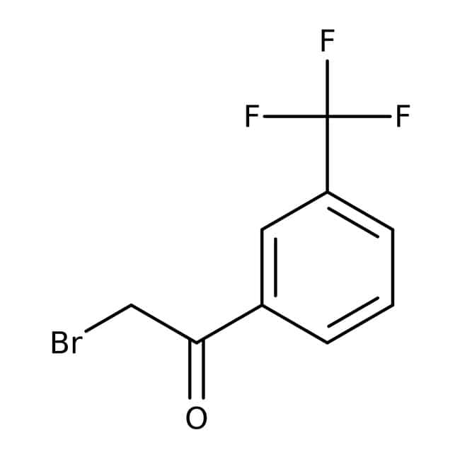 Alfa Aesar™2-Bromo-3'-(trifluoromethyl)acetophenone, 98% 5g Alfa Aesar™2-Bromo-3'-(trifluoromethyl)acetophenone, 98%