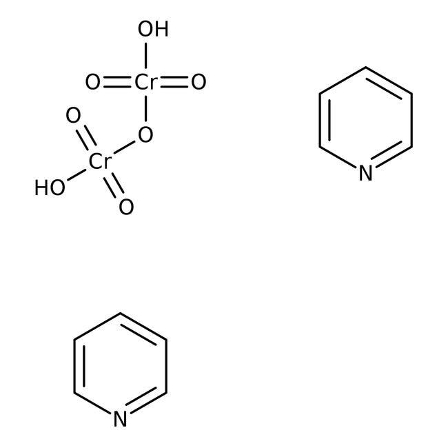 Pyridinium dichromate, 98%, ACROS Organics™ 1Kg; Plastic bottle Pyridinium dichromate, 98%, ACROS Organics™
