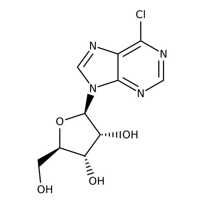 Alfa Aesar™6-Chloropurine riboside, 98% 250g Alfa Aesar™6-Chloropurine riboside, 98%