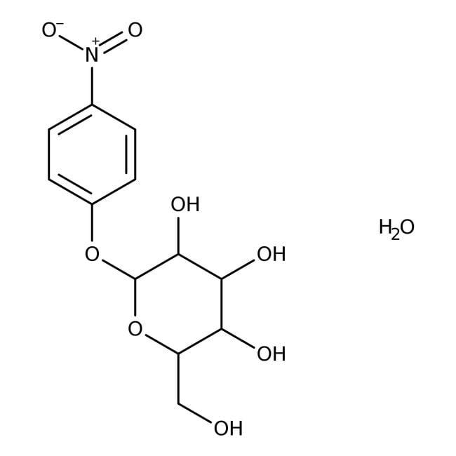 Alfa Aesar™4-Nitrophenyl-beta-D-Galactopyranosid, 98+% 5g Produkte