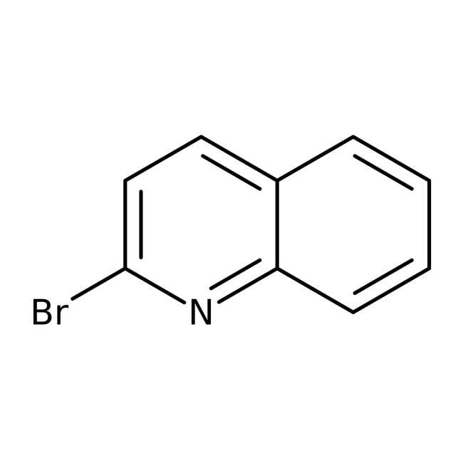 2-Bromoquinoline, 98%, ACROS Organics™ 25g 2-Bromoquinoline, 98%, ACROS Organics™