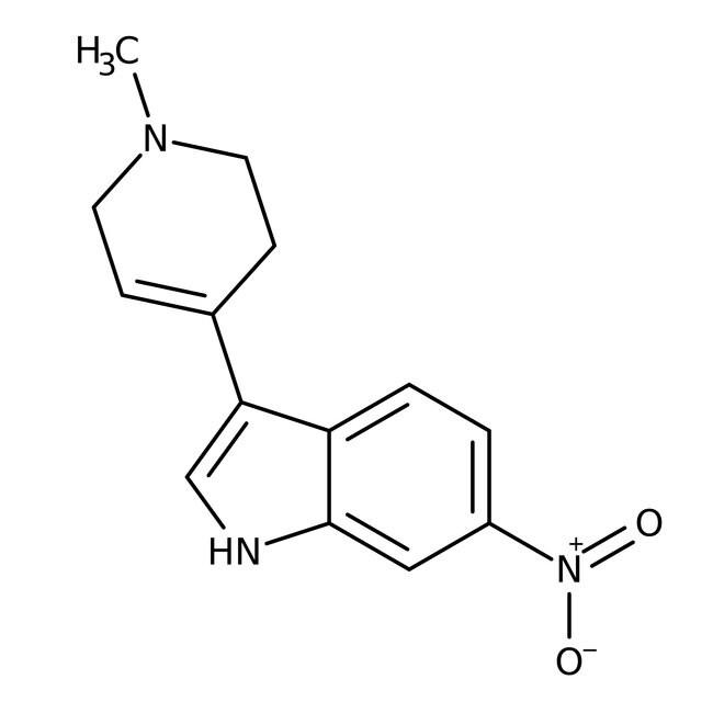 Alfa Aesar™3-(1-Methyl-1,2,3,6-Tetrahydro-4-Pyridyl)-6-Nitroindol, 97% 5g Produkte