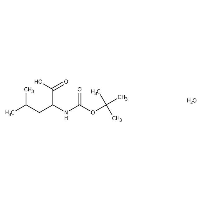 BOC-L-Leucine monohydrate, 99%, ACROS Organics™