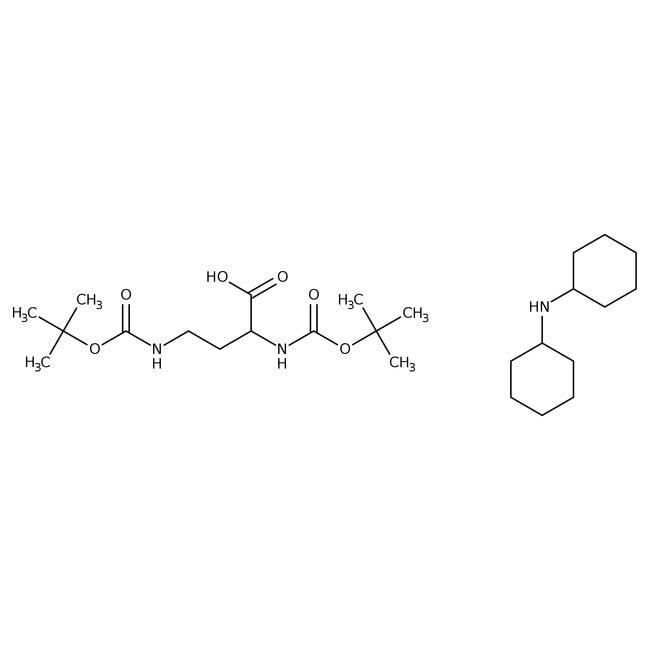 Alfa Aesar™(R)-2,3-Di-(Boc-amino)propionic acid dicyclohexylammonium salt, 95% 250mg Alfa Aesar™(R)-2,3-Di-(Boc-amino)propionic acid dicyclohexylammonium salt, 95%