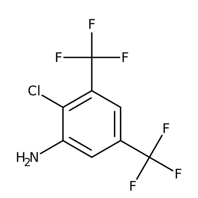 Alfa Aesar™2-Chloro-3,5-bis(trifluoromethyl)aniline, 98% 25g Alfa Aesar™2-Chloro-3,5-bis(trifluoromethyl)aniline, 98%