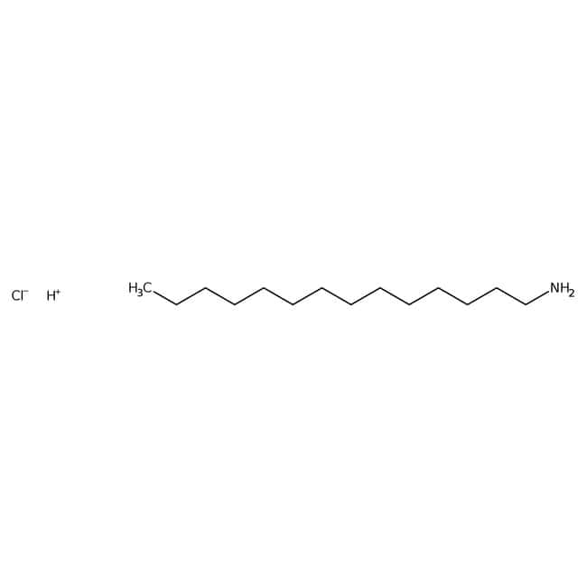 1-Tetradecylamine, 98%, ACROS Organics™ 50g; Glass bottle 1-Tetradecylamine, 98%, ACROS Organics™