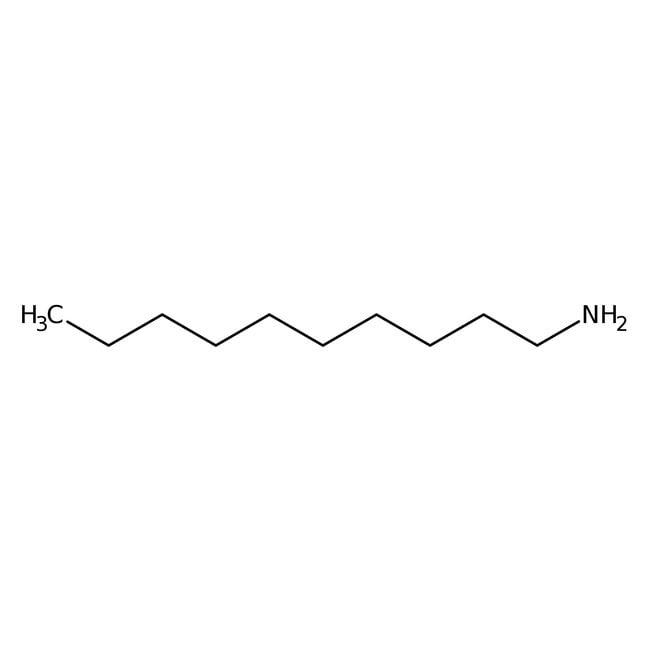 N-Decylamine, 99%, AcrosOrganics 10g; flacon en verre N-Decylamine, 99%, AcrosOrganics