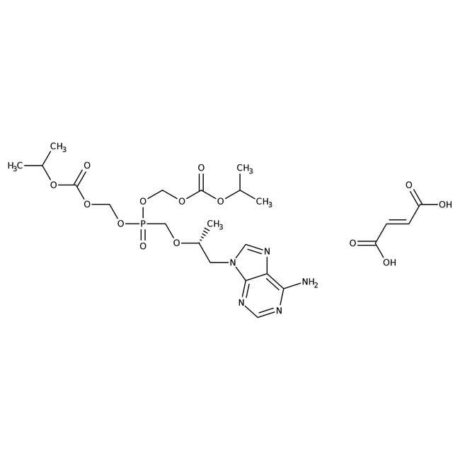 Tenofovir disoproxil fumarate, 98%, Acros Organics