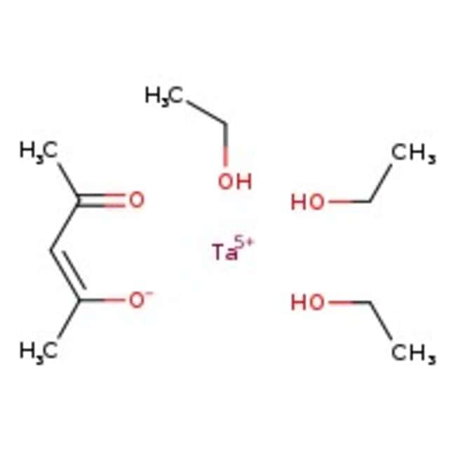Alfa Aesar  Tantalum(V) tetraethoxide 2,4-pentanedionate, 99.99%, (metals basis)