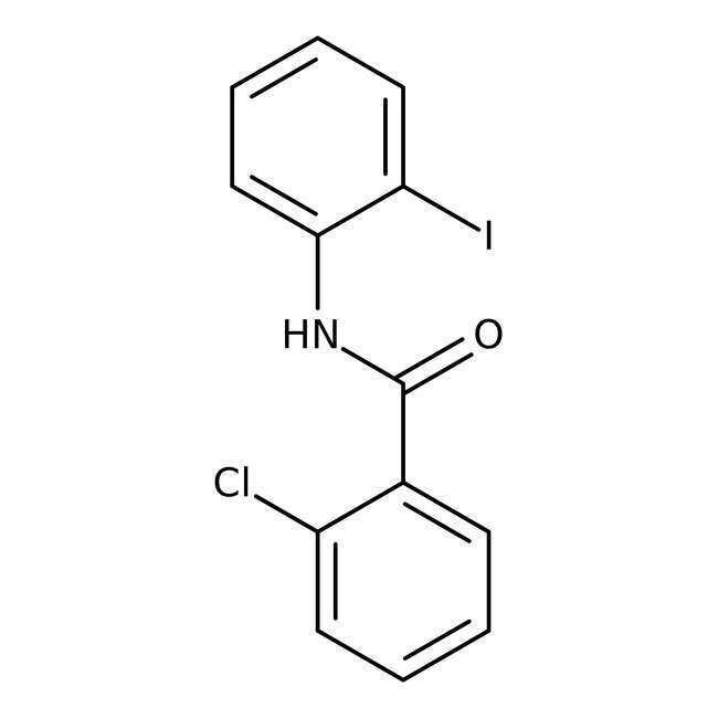 Alfa Aesar™2-Chloro-N-(2-iodophenyl)benzamide, 97% 1g Alfa Aesar™2-Chloro-N-(2-iodophenyl)benzamide, 97%