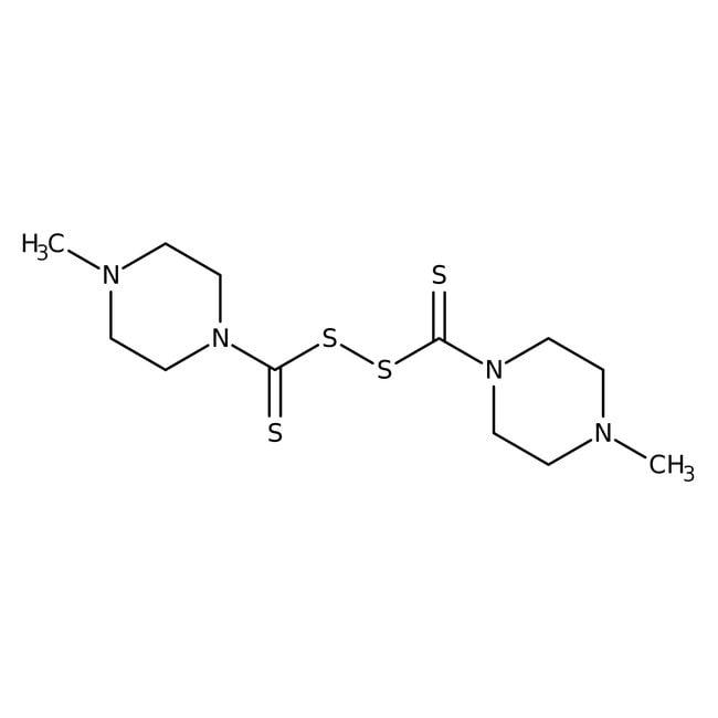 Bis(4-methyl-1-piperazinylthiocarbonyl) disulfide, 98%, ACROS Organics